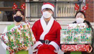 희망조약돌, '크리스마스 비…