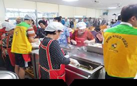 빈곤노인 식사지원